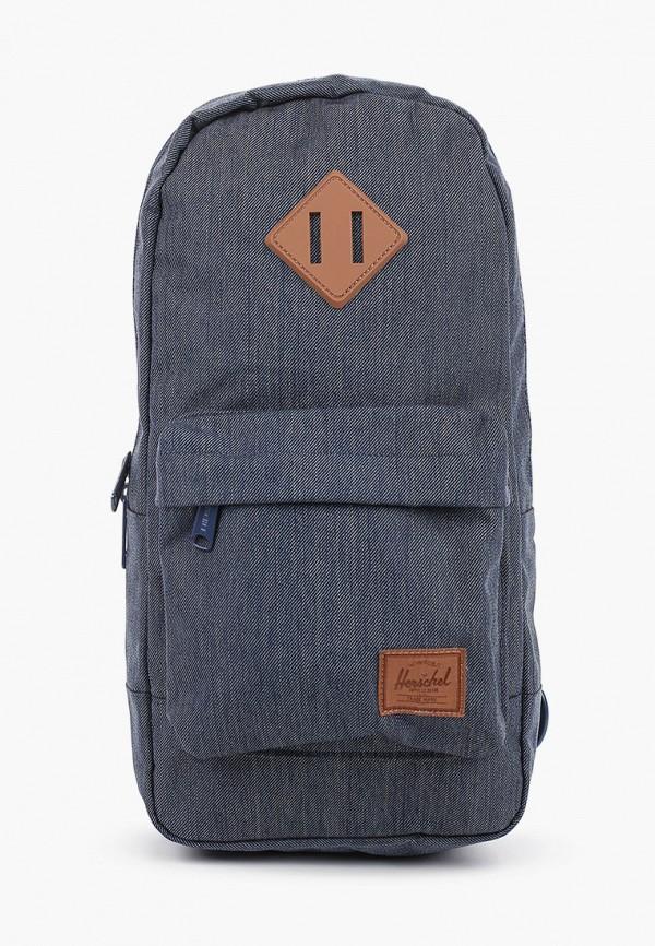 женская сумка herschel supply co, синяя