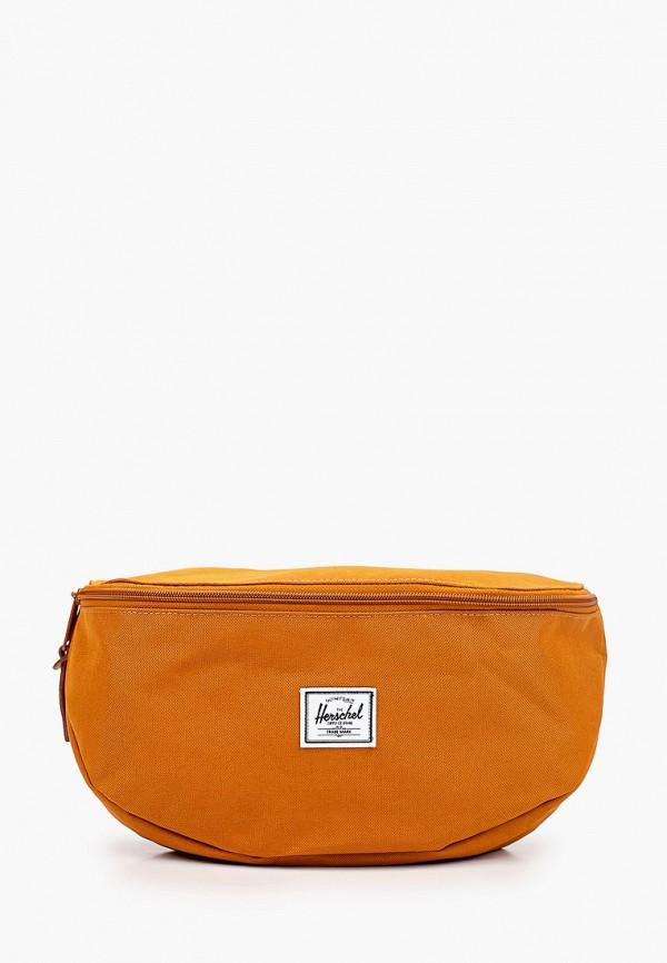 женская сумка herschel supply co, коричневая