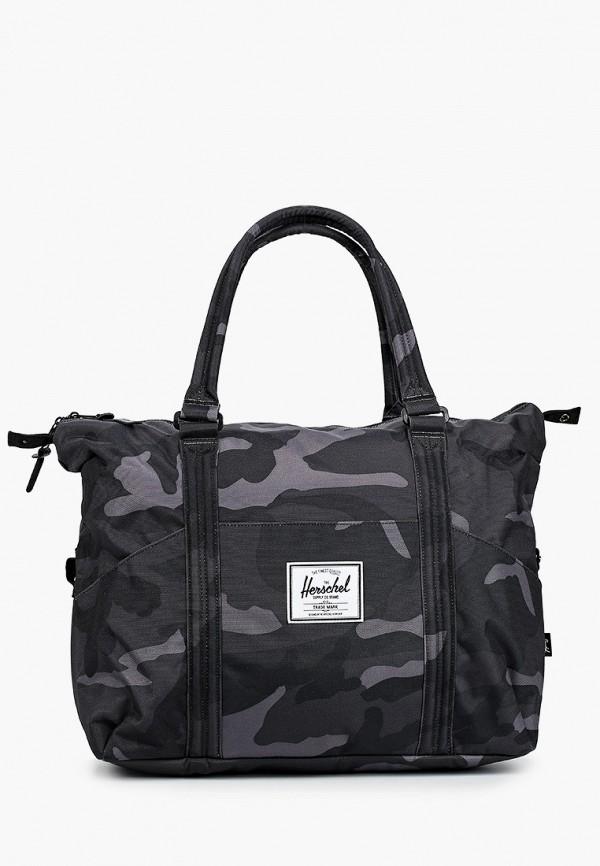 женская сумка herschel supply co, серая