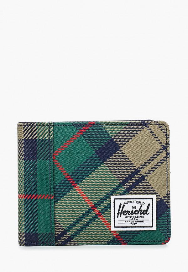 женский кошелёк herschel supply co, зеленый