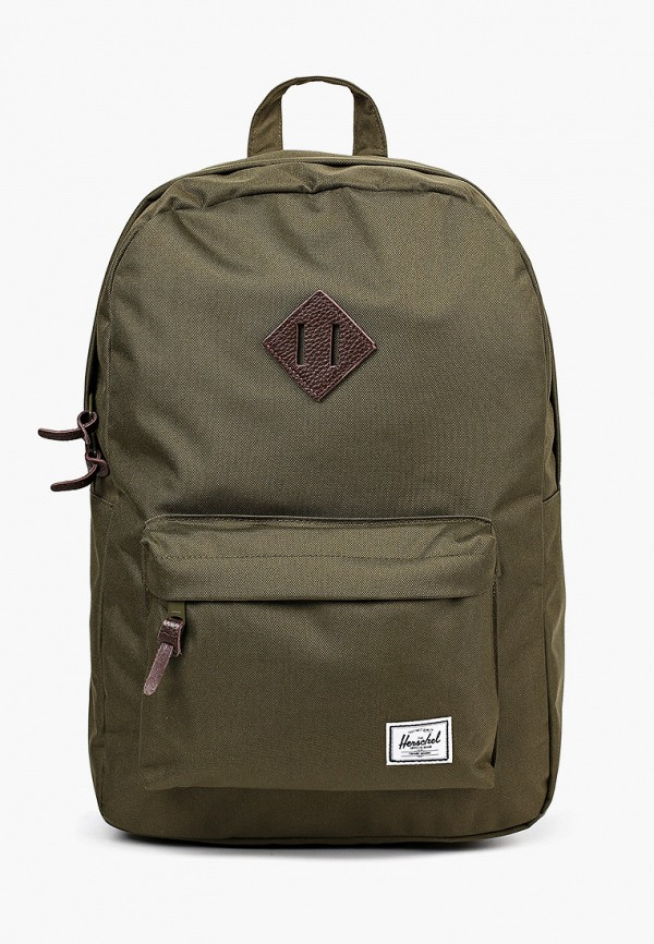 женский рюкзак herschel supply co, зеленый