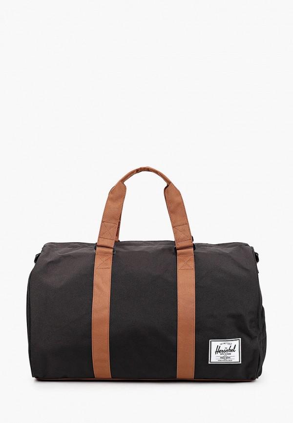 женская дорожные сумка herschel supply co, черная