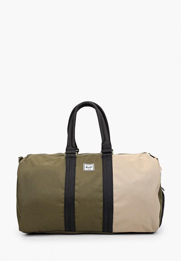 женская спортивные сумка herschel supply co, хаки