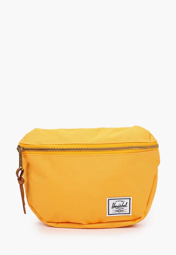 женская поясные сумка herschel supply co, оранжевая