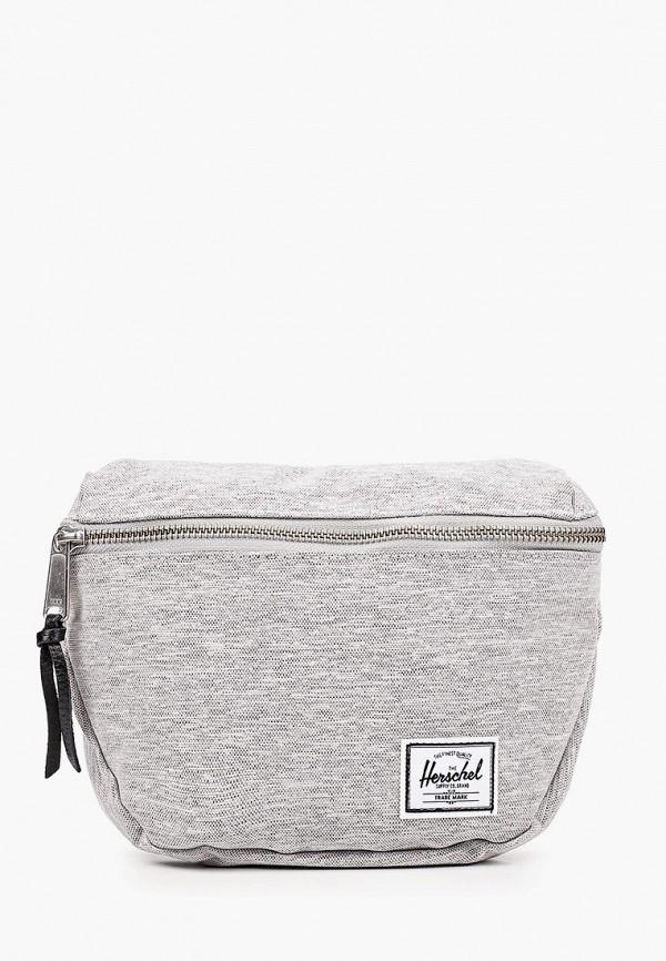 женская поясные сумка herschel supply co, серая
