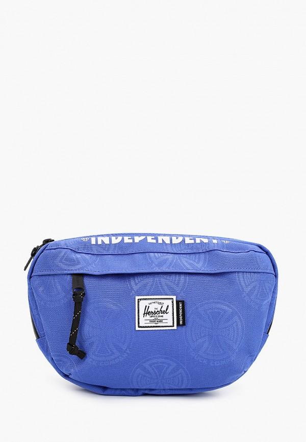 женская поясные сумка herschel supply co, синяя