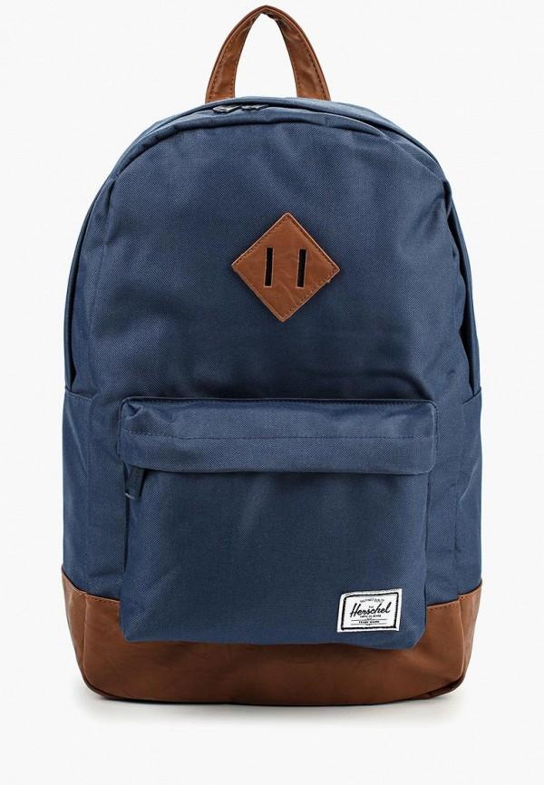 Купить женский рюкзак Herschel Supply Co синего цвета