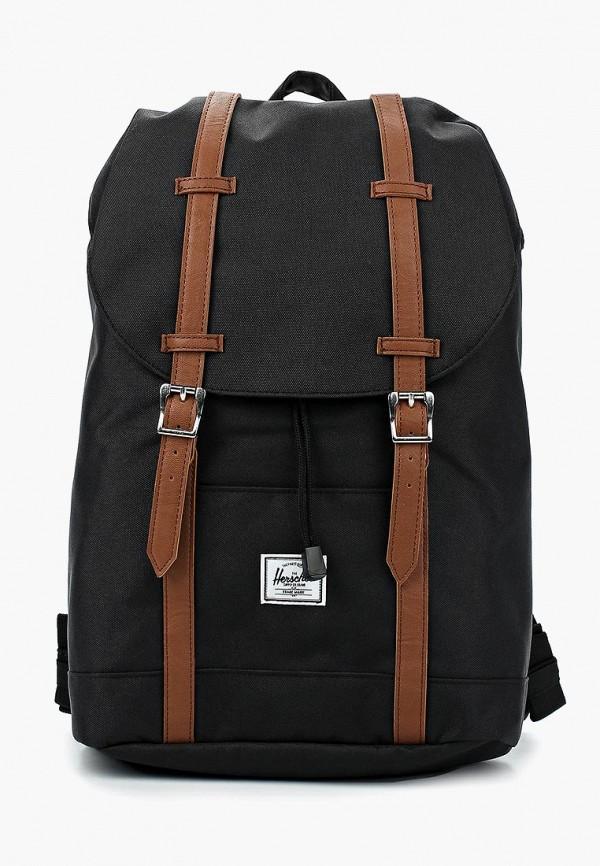 Купить мужской рюкзак Herschel Supply Co черного цвета