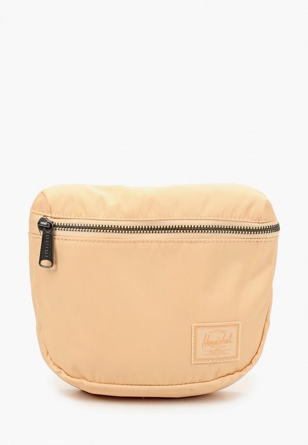 женская сумка herschel supply co, розовая