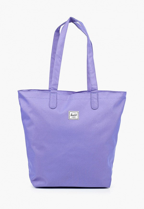 женская сумка-шоперы herschel supply co, фиолетовая