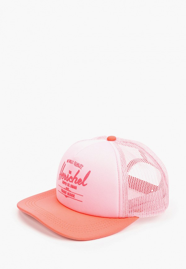 бейсболка herschel supply co для девочки, розовая