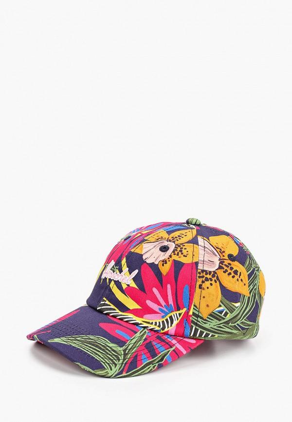 бейсболка herschel supply co для девочки, разноцветная