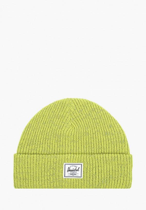 шапка herschel supply co малыши, желтая