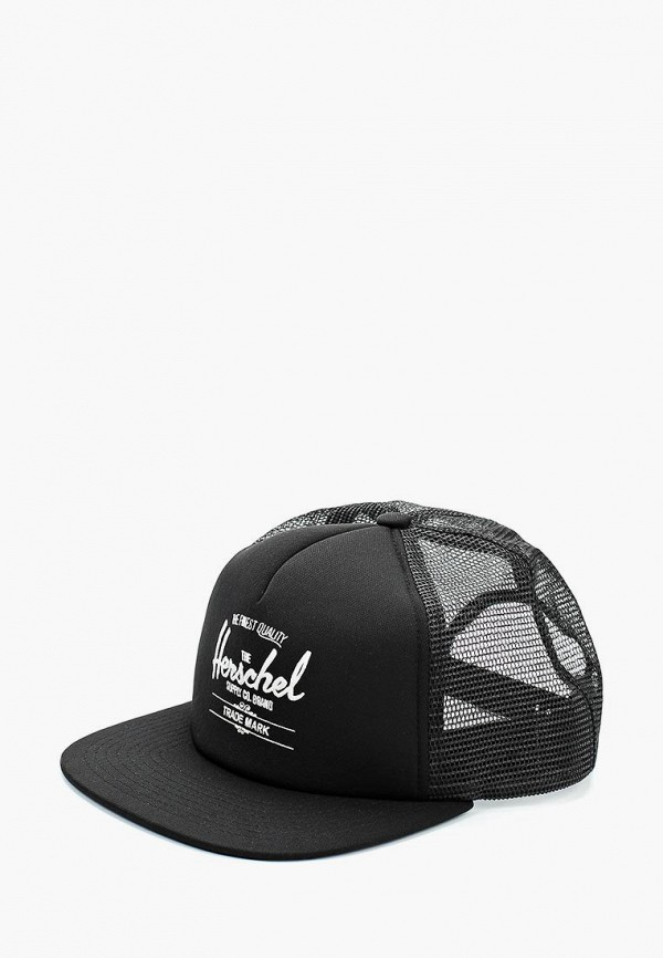 женская бейсболка herschel supply co, черная