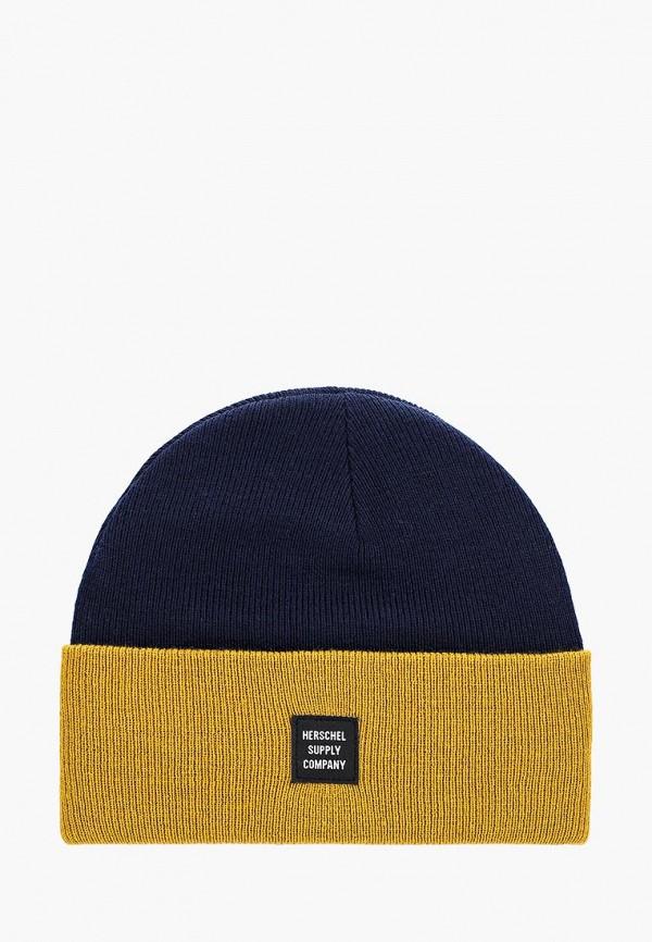 женская шапка herschel supply co, разноцветная