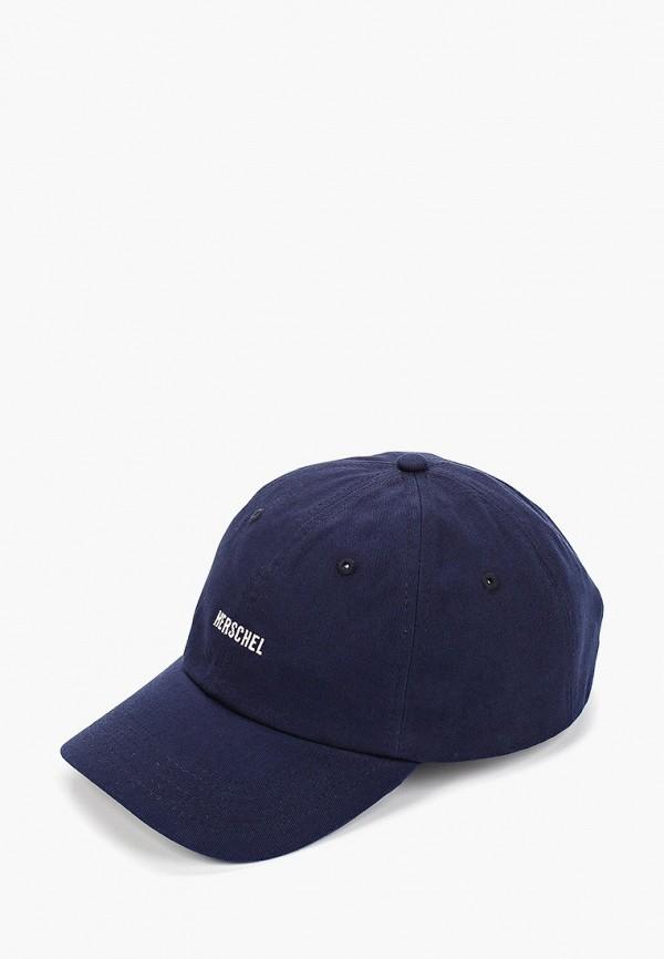 Фото - Бейсболка Herschel Supply Co синего цвета