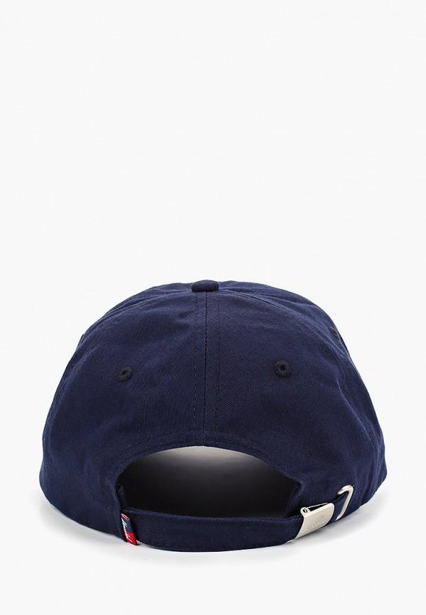 Фото 2 - Бейсболка Herschel Supply Co синего цвета