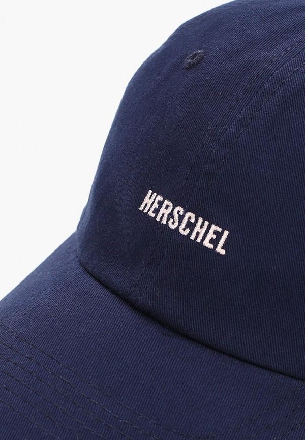 Фото 3 - Бейсболка Herschel Supply Co синего цвета