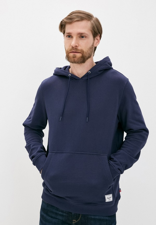 мужские худи herschel supply co, синие