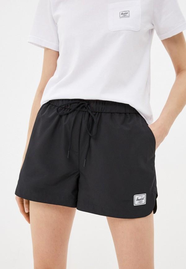 женские спортивные шорты herschel supply co, черные