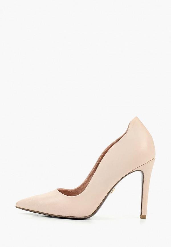 женские туфли heart & sole by tamaris, розовые