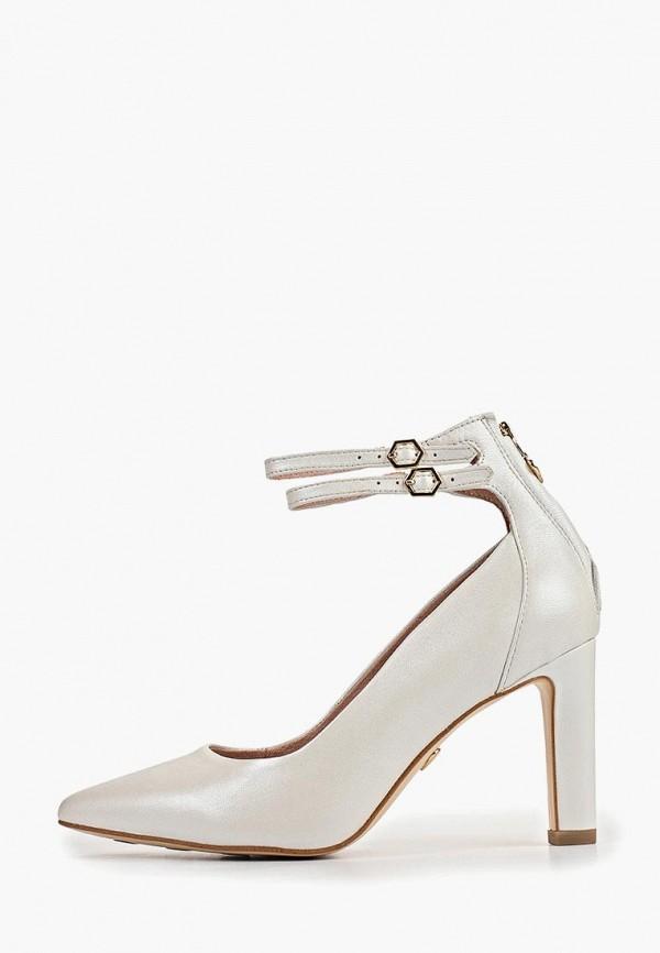 женские туфли heart & sole by tamaris, белые