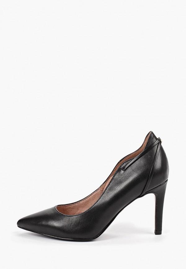 женские туфли heart & sole by tamaris, черные