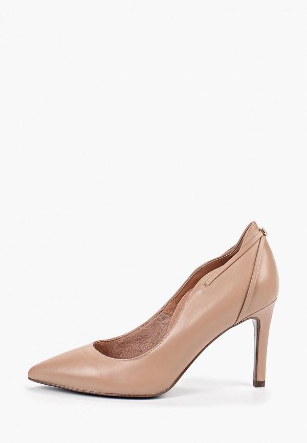 женские туфли heart & sole by tamaris, бежевые