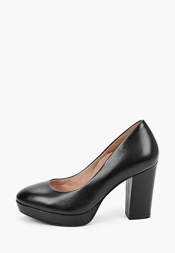 женские туфли tamaris heart & sole, черные