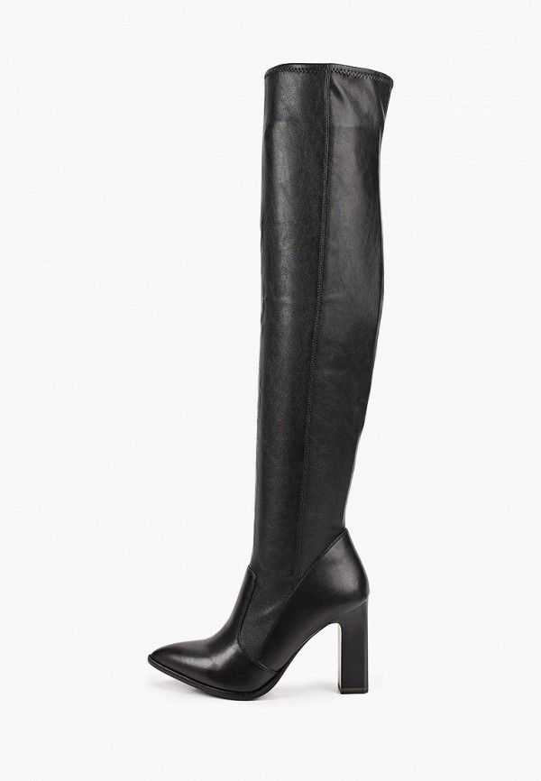 женские ботфорты tamaris heart & sole, черные