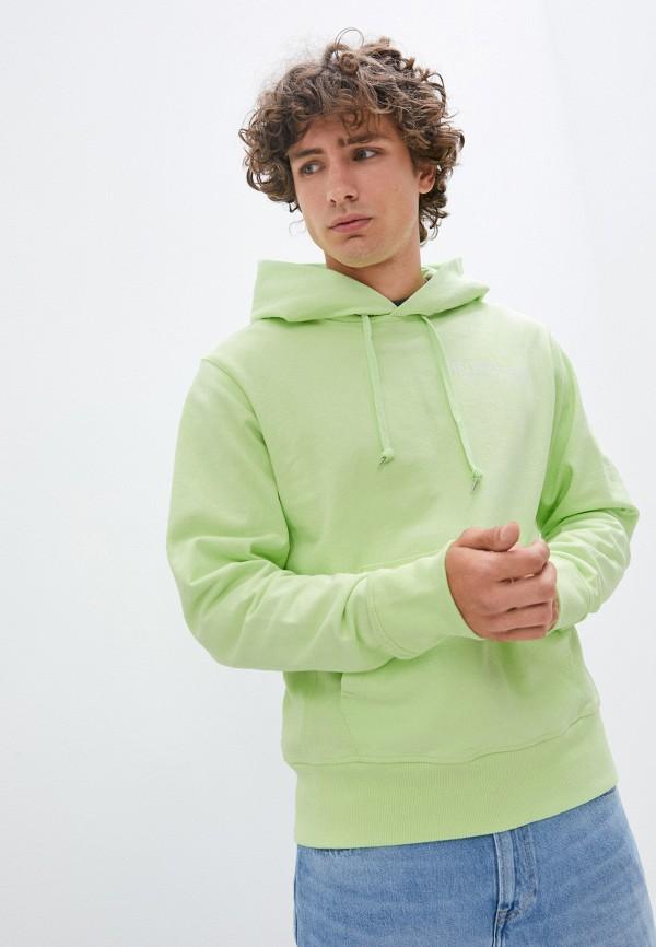 мужские худи helmut lang, зеленые