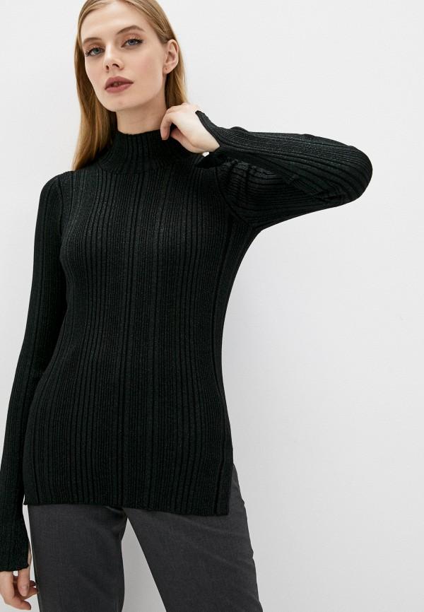 женская водолазка helmut lang, черная