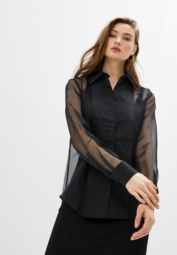 женская блузка helmut lang, черная
