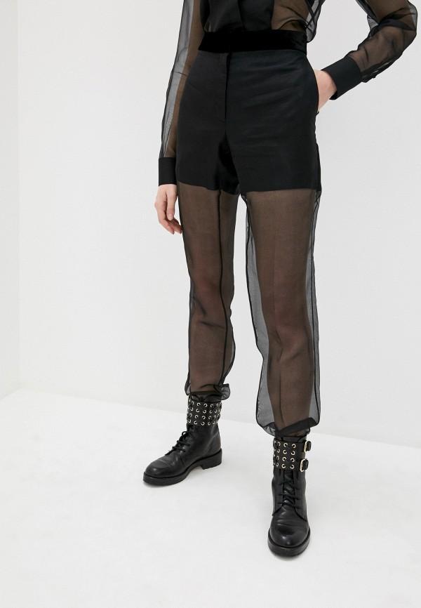 женские повседневные брюки helmut lang, черные