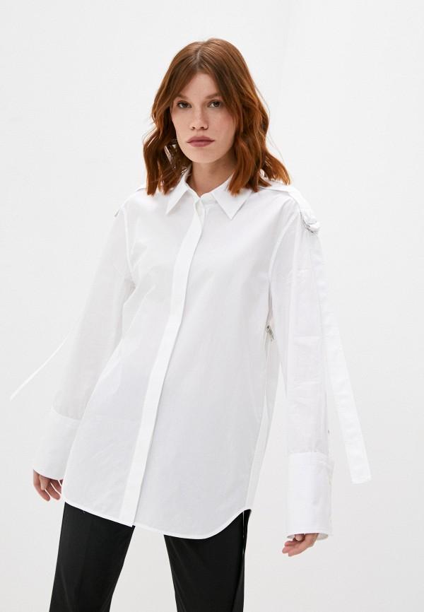 женская рубашка с длинным рукавом helmut lang, белая