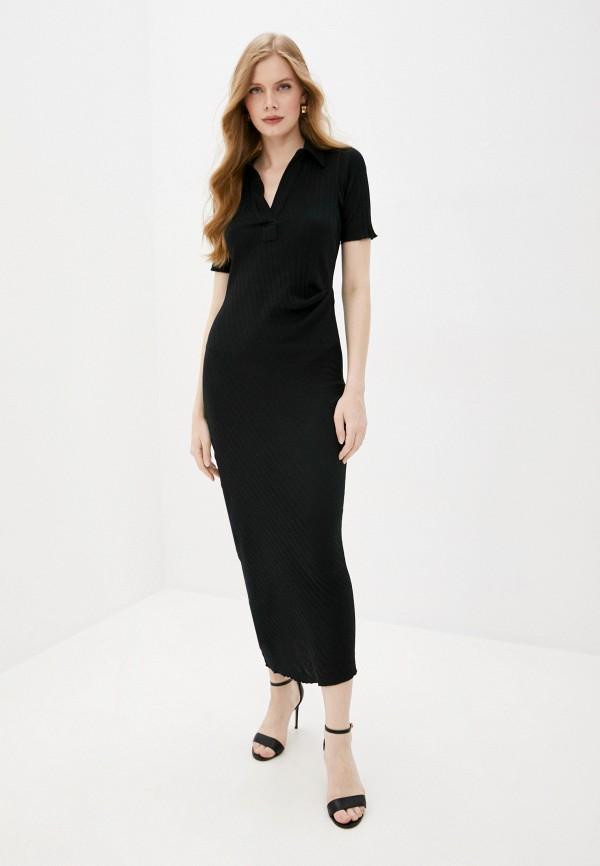 женское повседневные платье helmut lang, черное
