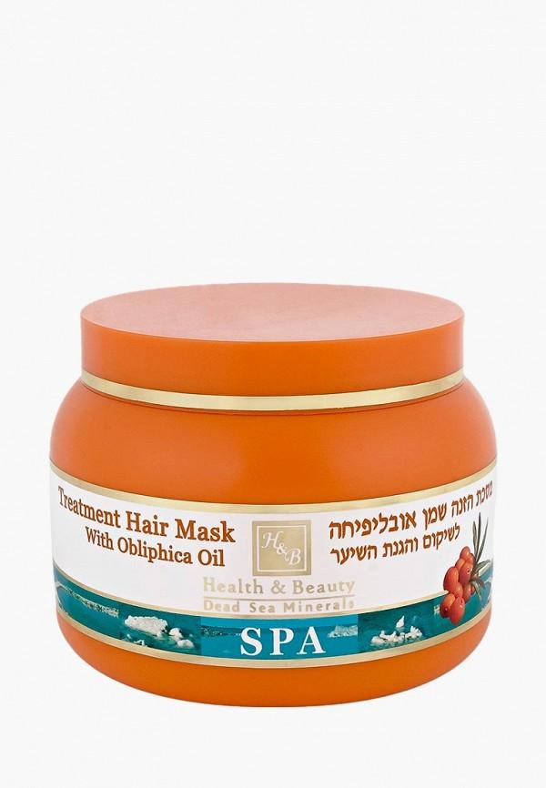 Купить Маска для волос Health & Beauty, с добавлением масла облепихи, 250 мл, HE027LWBIXE7, прозрачный, Осень-зима 2018/2019
