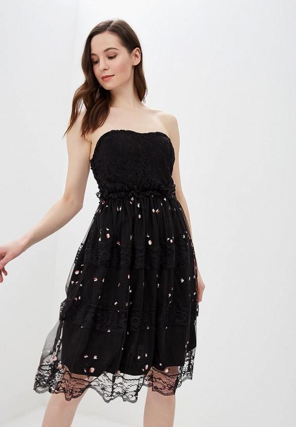 женское вечерние платье hellen barrett, черное