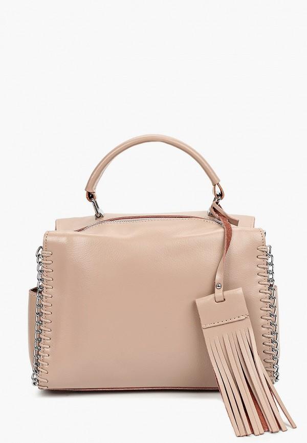 сумка hey look для девочки, бежевая