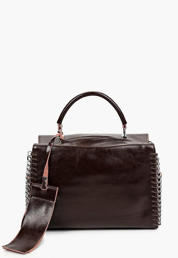 сумка hey look для девочки, коричневая