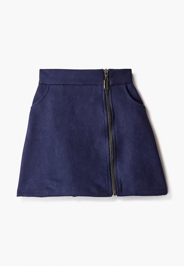 юбка hey look для девочки, синяя