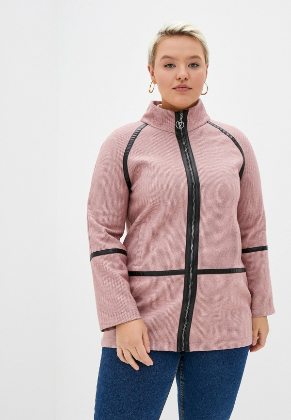 женское пальто hey look, розовое