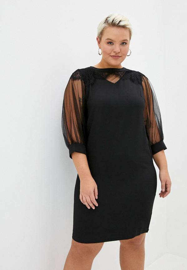 женское вечерние платье hey look, черное