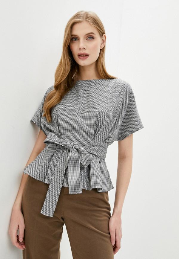 женская блузка hey look, серая