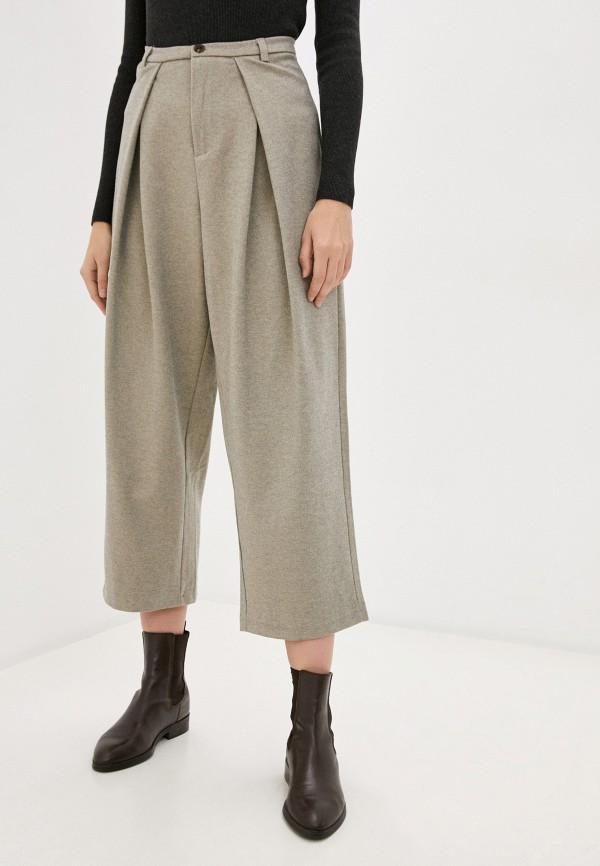 женские повседневные брюки hey look, бежевые