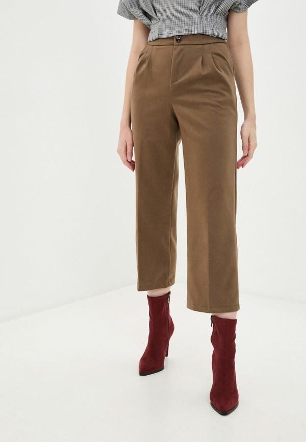 женские повседневные брюки hey look, хаки