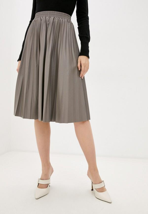 женская юбка hey look, серая
