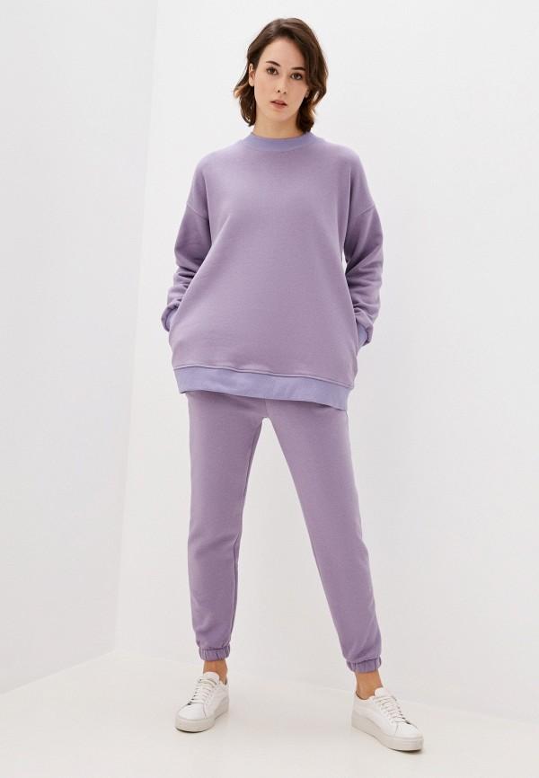 женский спортивный костюм hey look, фиолетовый