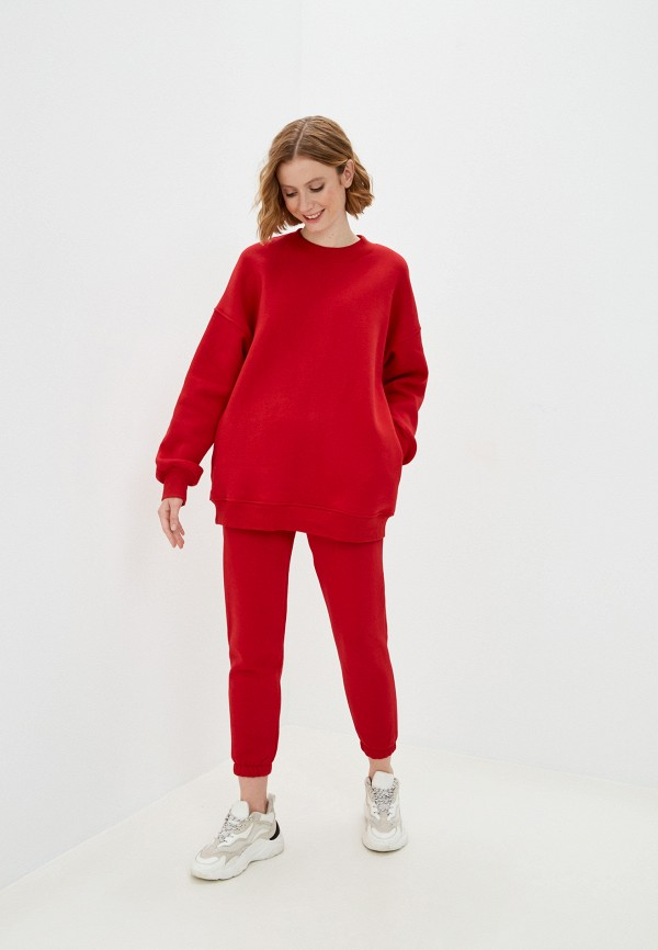 женский спортивный костюм hey look, красный
