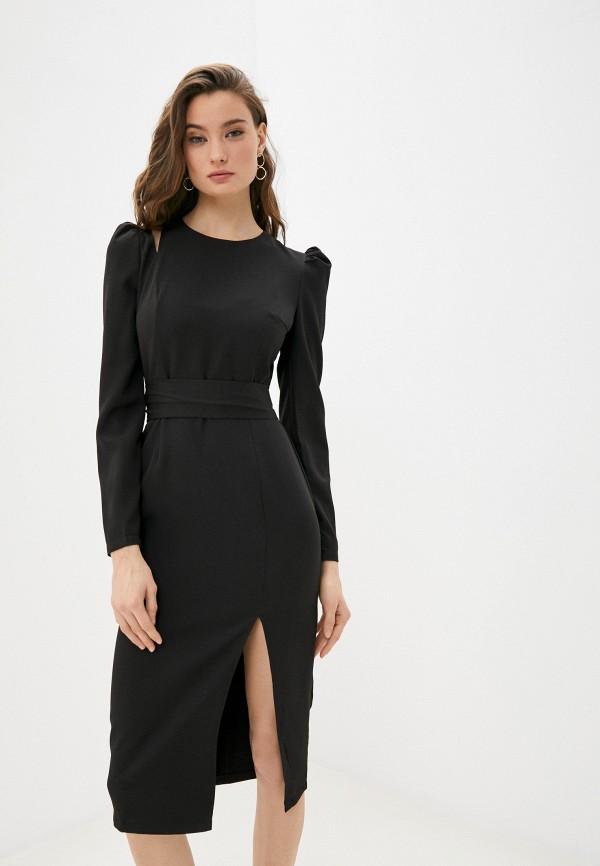 женское платье-футляр hey look, черное